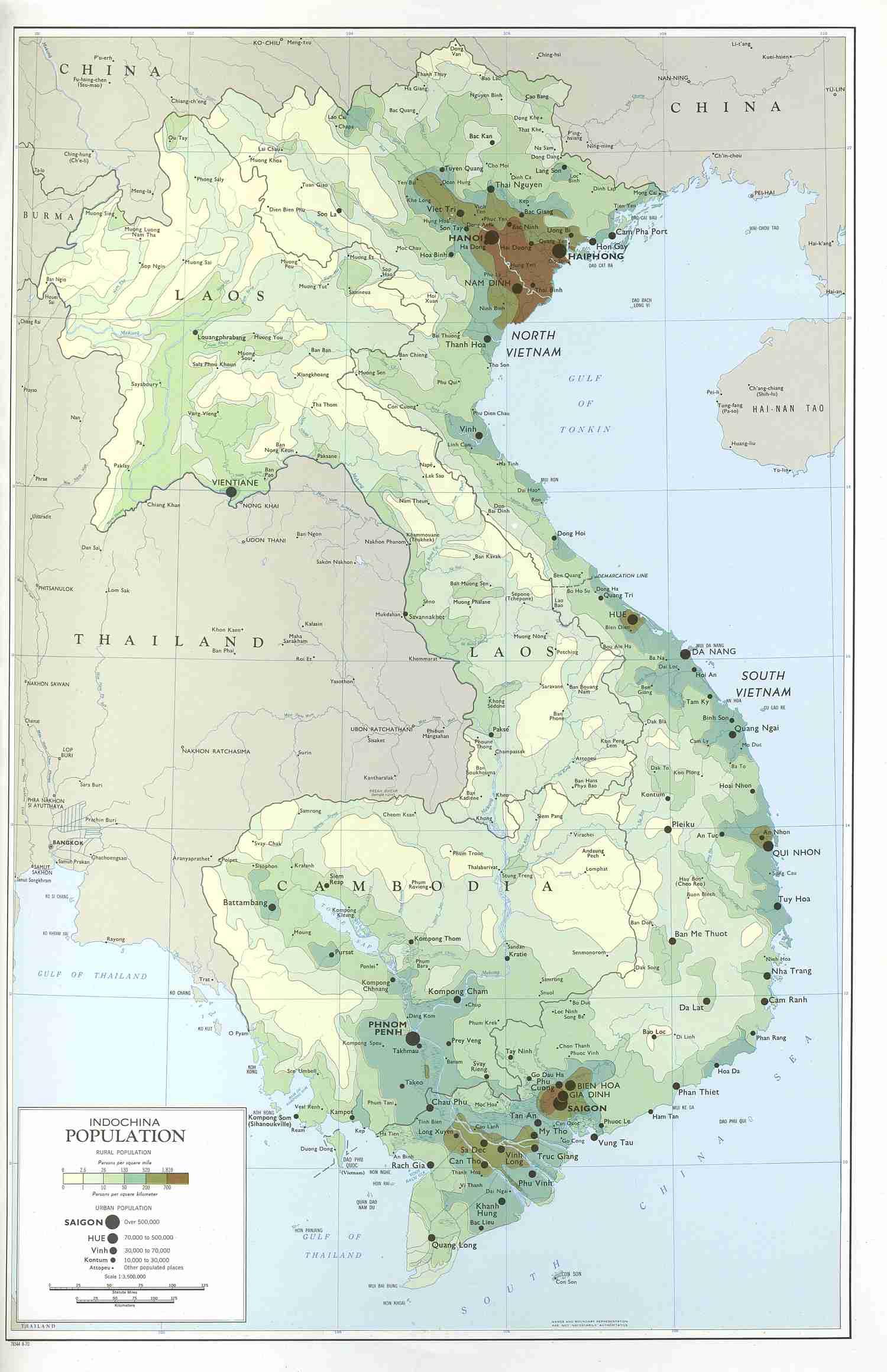 Mountains In Vietnam Map.Viet Map 3 Vietnam War An Khe Hon Cong Mountain